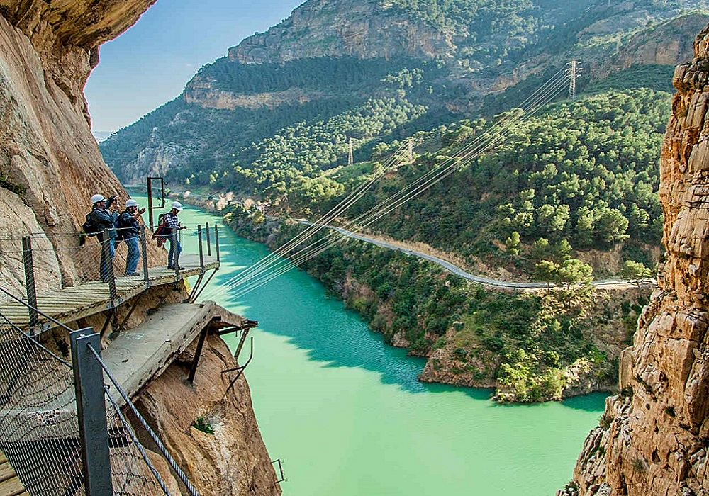 Hiking Tour King's Pathway, Hiking Tour Caminito del Rey, Andalusia - Spain