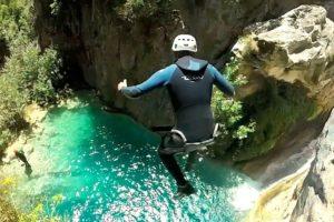 Canyoning Garganta Verde Andalusia