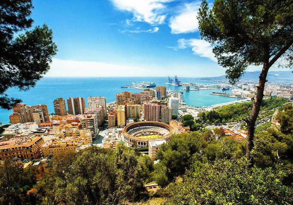 Málaga, Costa del Sol, Andalusien, Spanien
