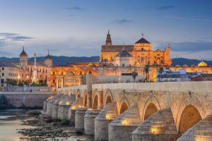 Roman Bridge in Córdoba