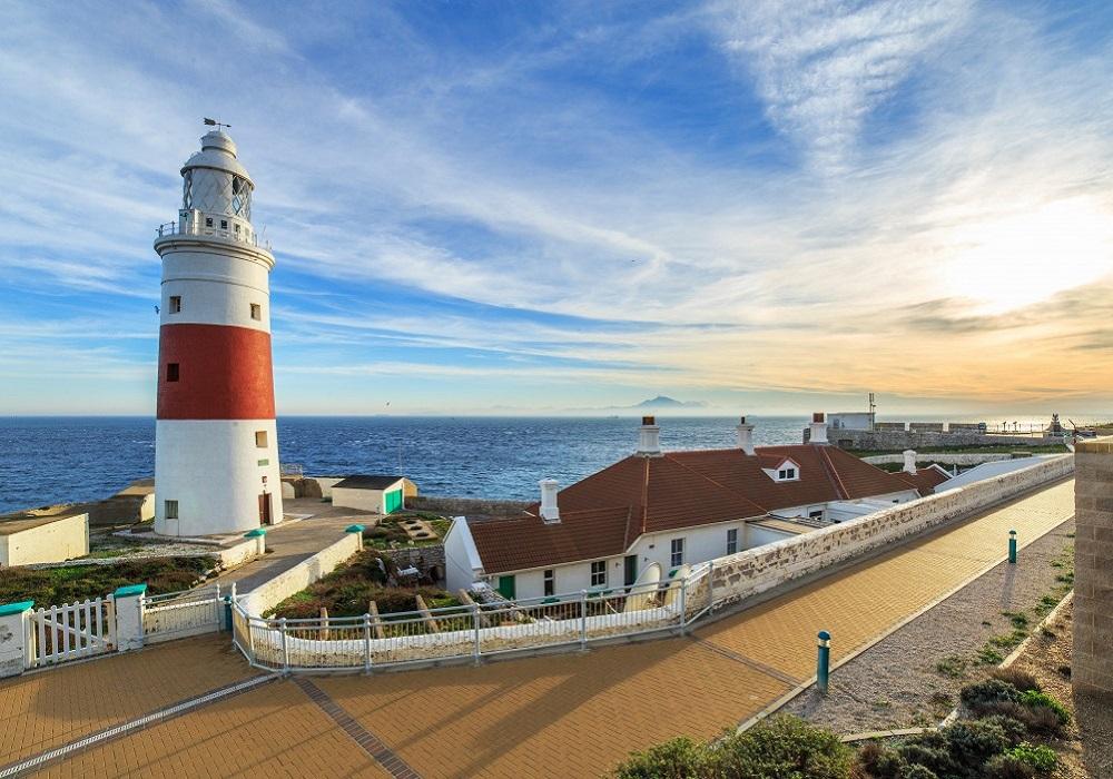 Tagesausflug nach Gibraltar. Lighthouse