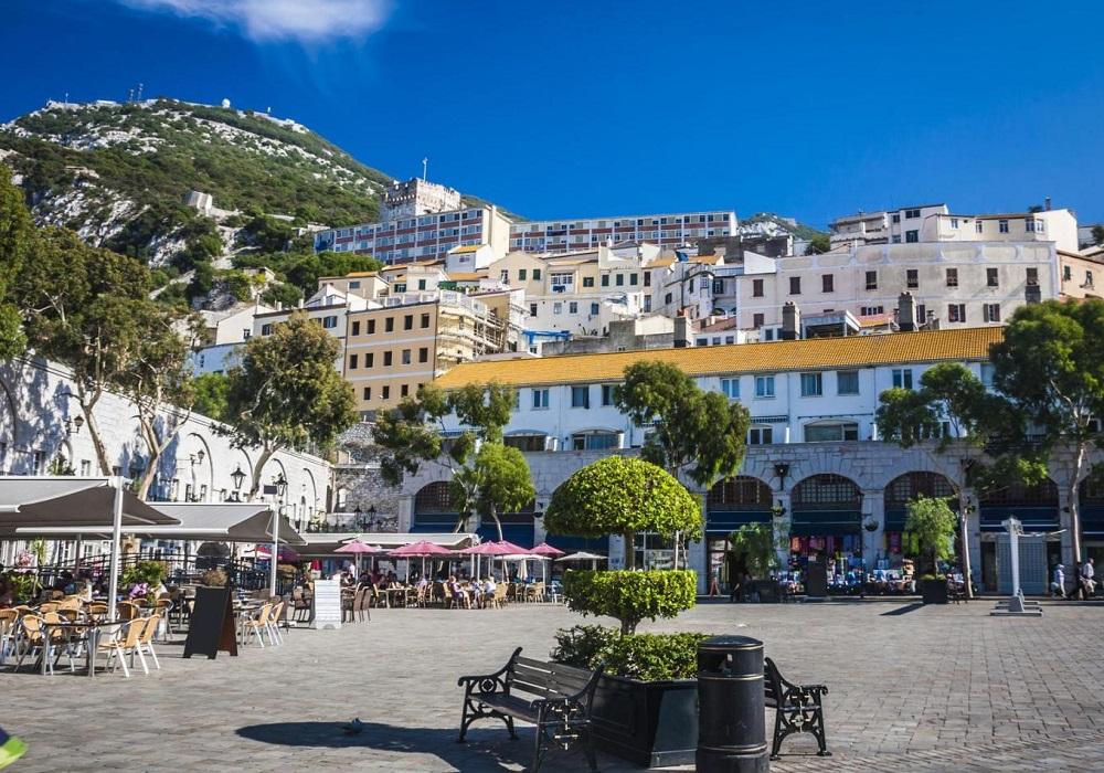 Tagesausflug nach Gibraltar. Main Place