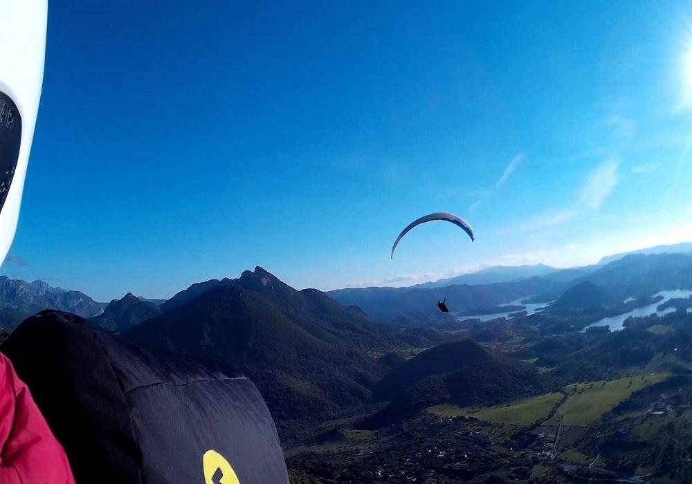 Abenteuer Tour Paragliding Andalusien
