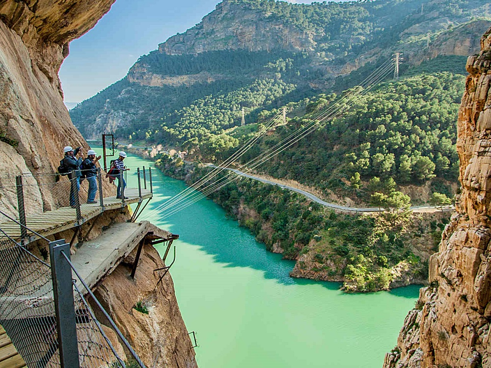 Klettersteig Caminito Del Rey : Wandertour caminito del rey und weiβe dörfer touren in andalusien