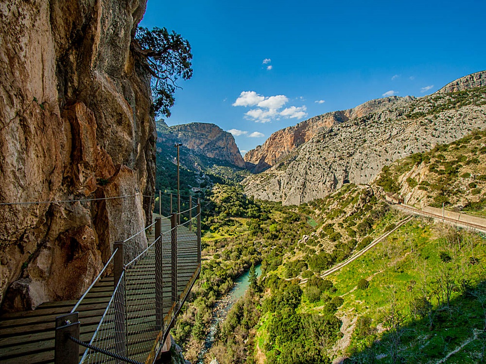 Hiking Tour Caminito del Rey, Provinz Málaga, Andalusien - Spanien