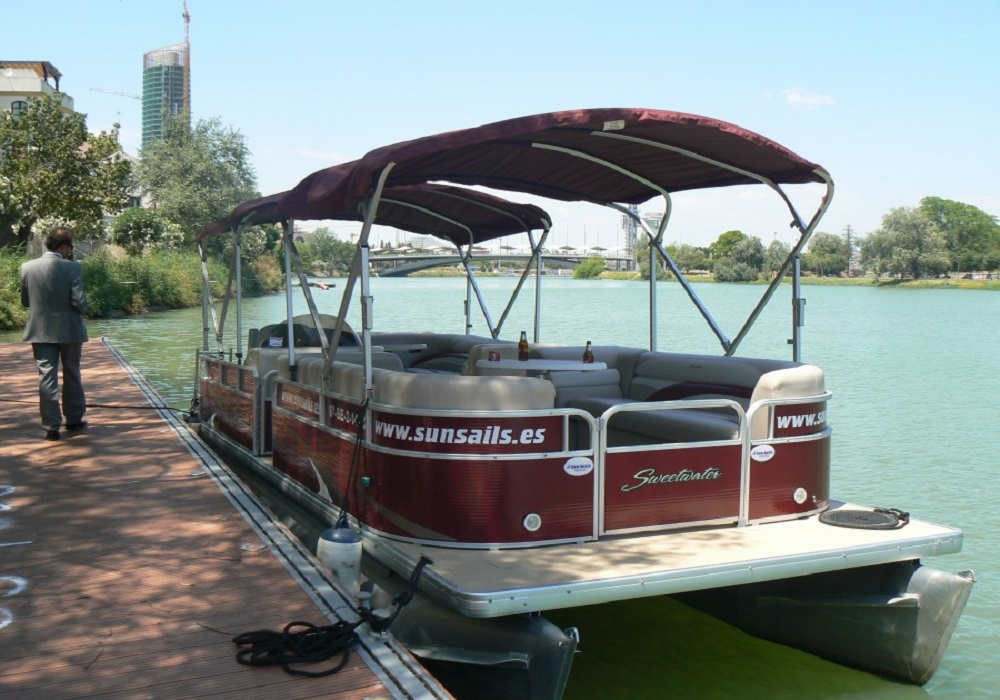 Bootstour auf dem Guadalquivir, Sevilla - Andalsuien.