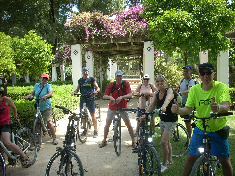 Bike tour Sevilla