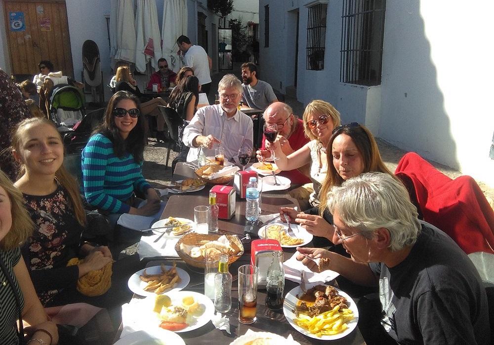 Lunch break at Grazalema