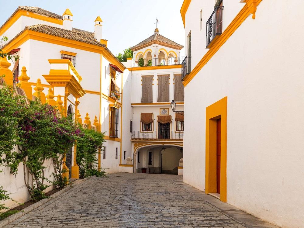 Sightseeing Stadtrundgang Sevilla. Real Maestranza