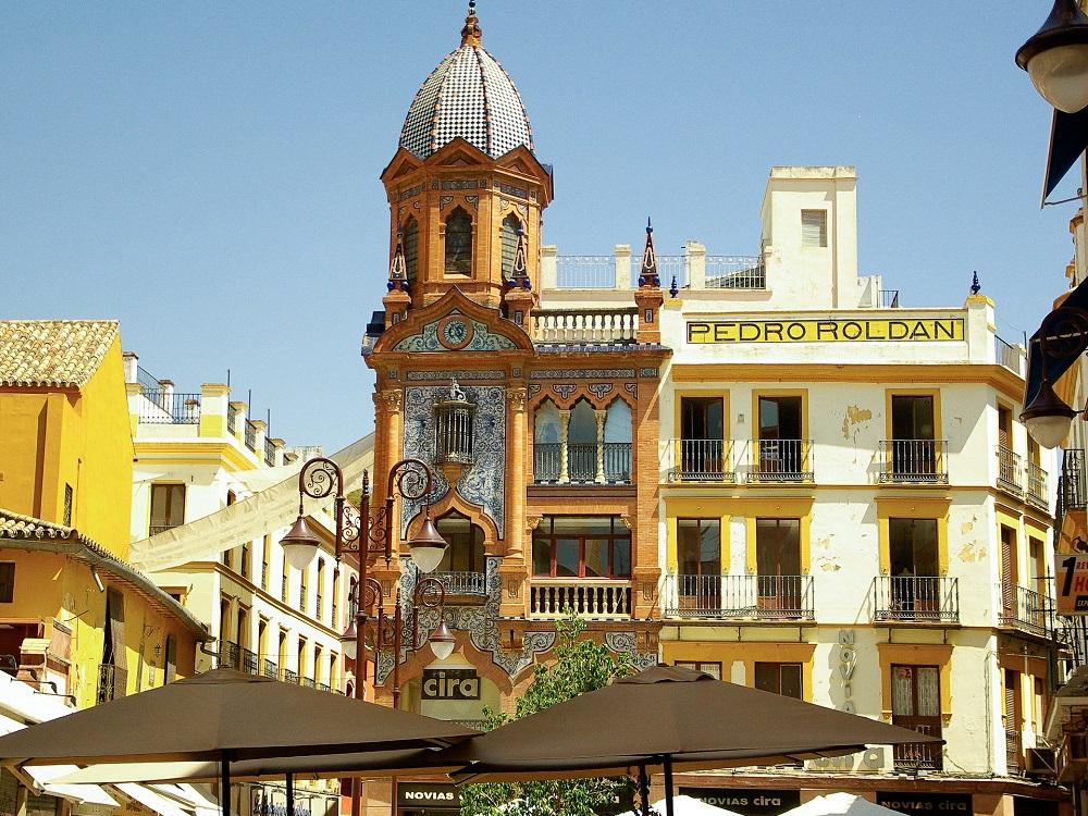 Sightseeing Stadtrundgang Sevilla. Plaza del Pan