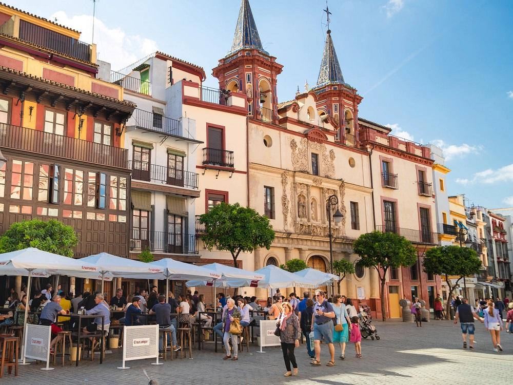 Sightseeing Stadtrundgang Sevilla. Plaza del Salvador