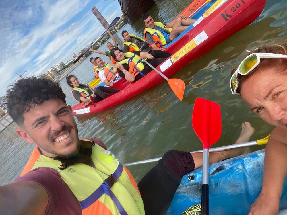 Kayak tour Sevilla