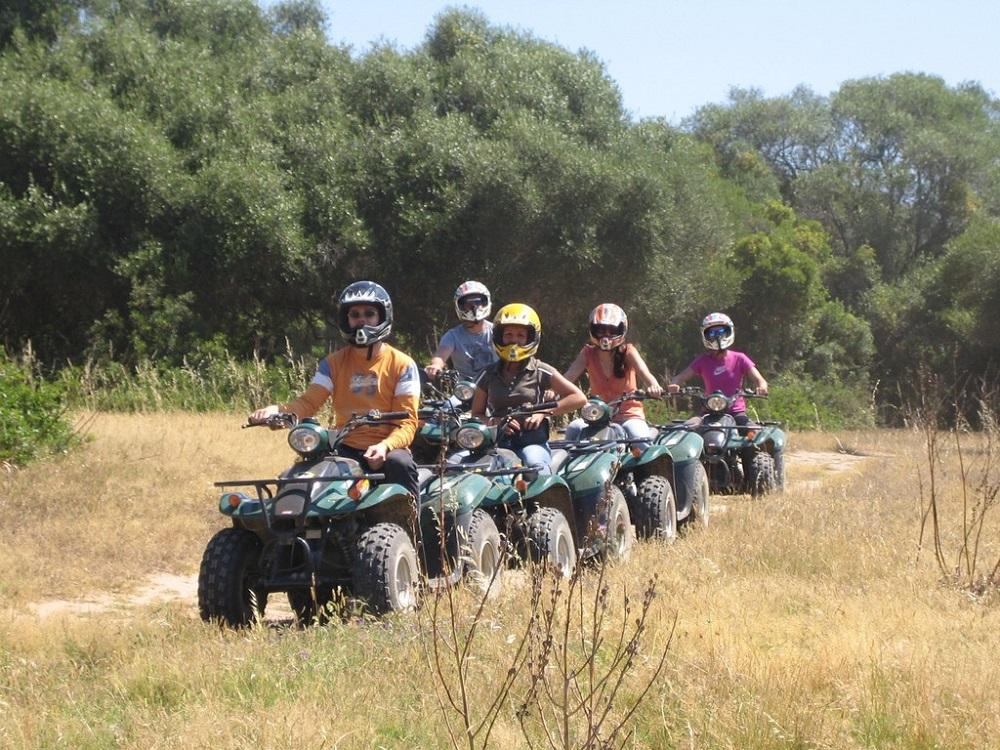 Tagesausflug Quad-Tour, Quadgruppe Montenmedio